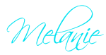 signature Melanie in aqua color