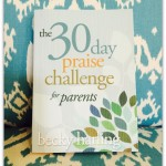 The 30 Day Praise Challenge for Parents: Book Review and Giveaway!