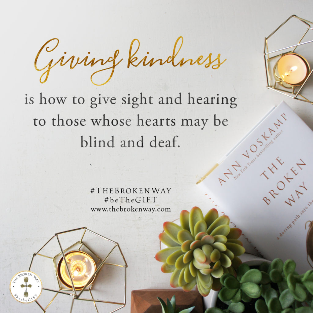 100716_thebrokenway_givingkindness_square Ann Voskamp 'The Broken Way' review