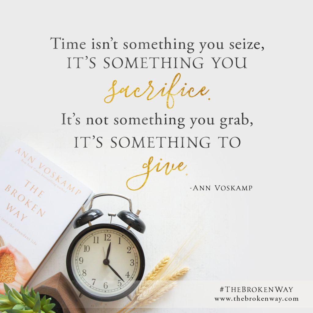 thebrokenway_time Ann Voskamp 'The Broken Way' review