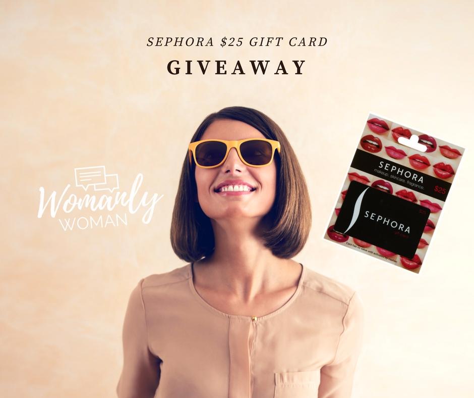 $25 Sephora giveaway