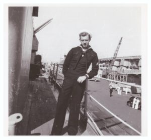 My Dad in the Navy somewhere during the Korean War