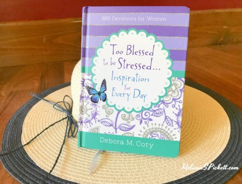 Join us for the 'Too Blessed to Be Stressed' devotional giveaway