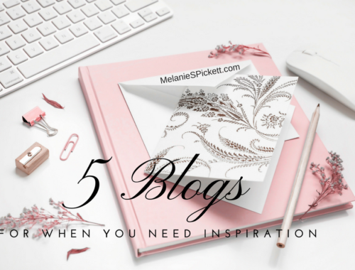 5 blogs for when you need inspiration