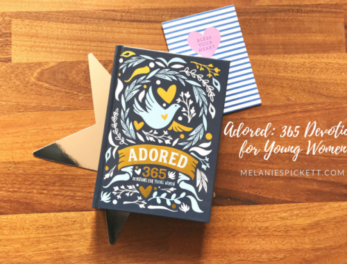 'Adored: 365 Devotions for Young Women'