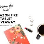Christmas Gift Ideas | Amazon Fire 7 Tablet Giveaway