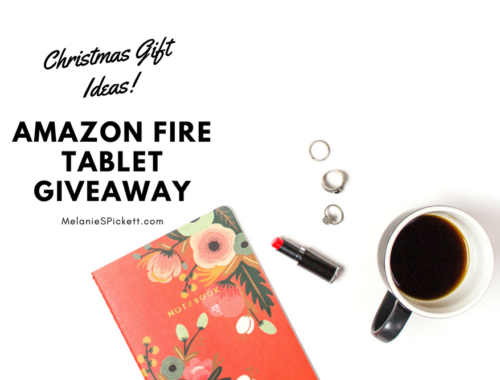 Need some Christmas gift ideas? I've teamed up some great bloggers to offer you this super fun Amazon Fire 7 Tablet giveaway!