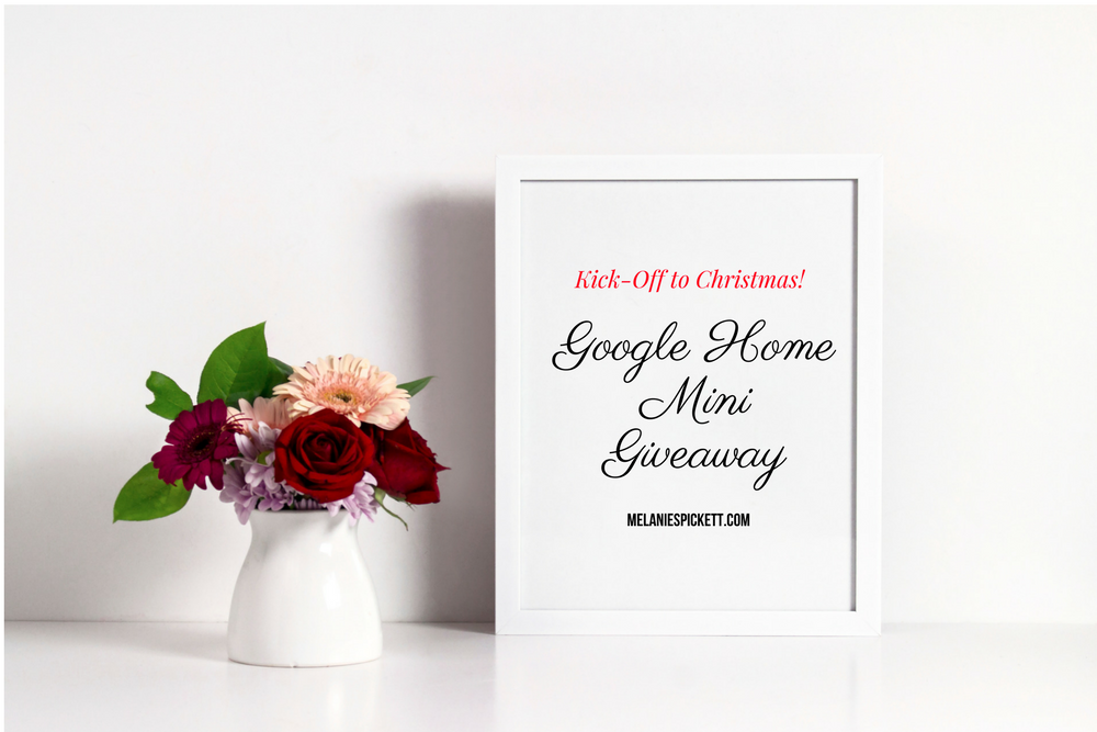 Google home mini giveaway