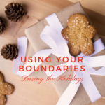 25 Days of Christmas | Using Your Boundaries During the Holidays