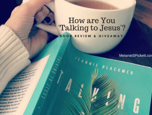 How are you 'Talking to Jesus' Book Review & Giveaway